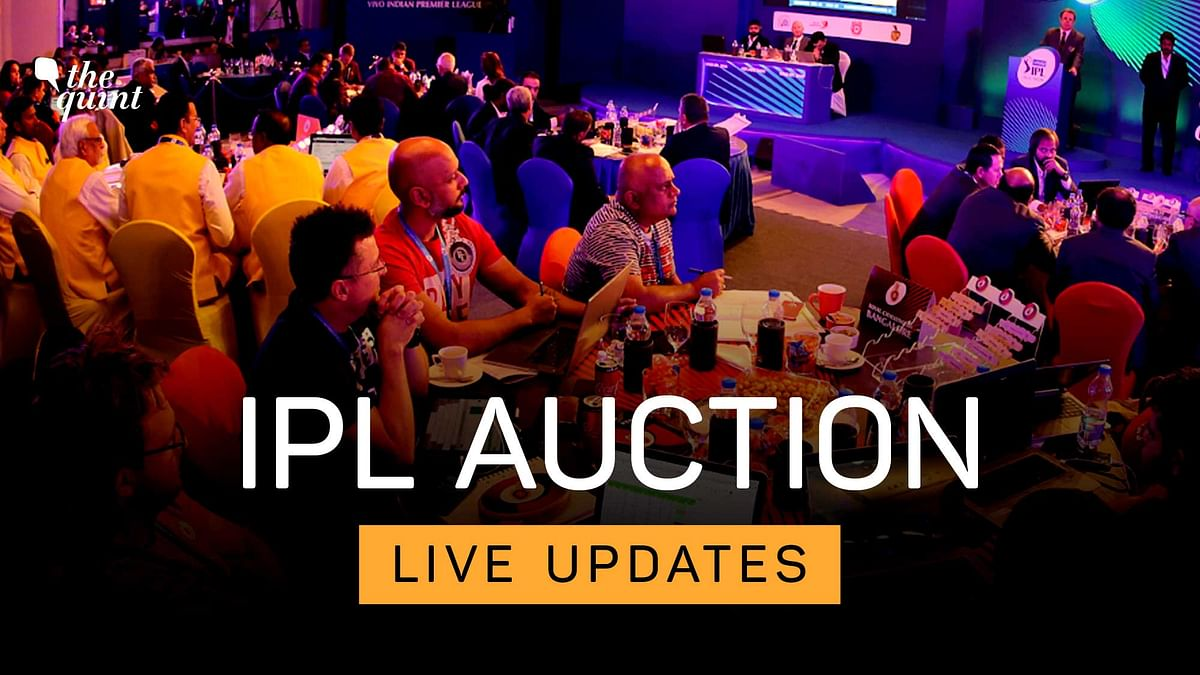 IPL Players Auction 2021 LIVE: Auction starts at 3pm IST.