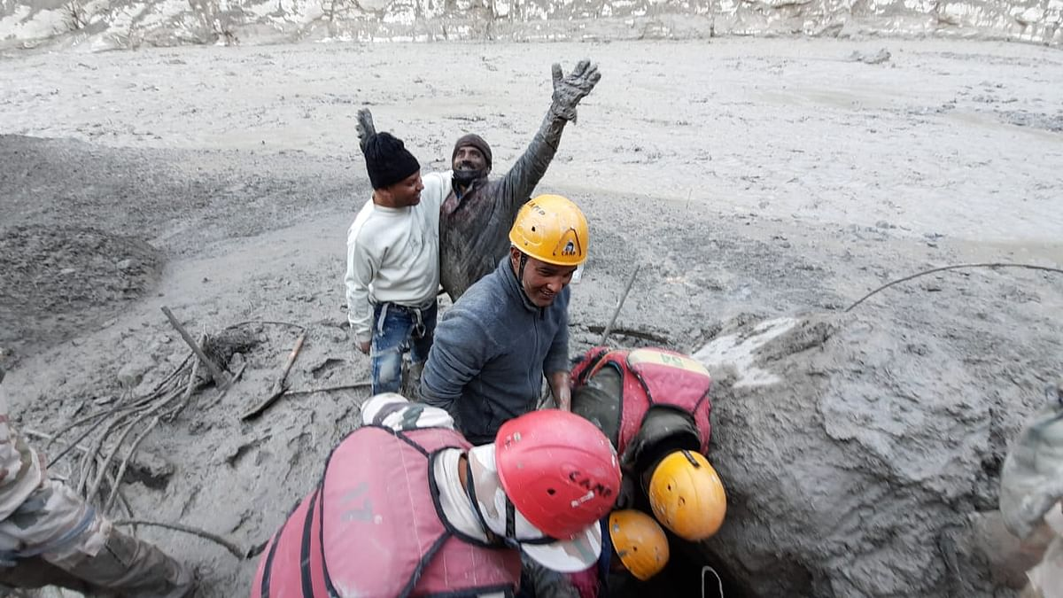 Rescue are operations underway at Chamoli.