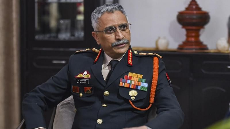 Army chief General Manoj Mukund Naravane. Image used for representation purposes only.