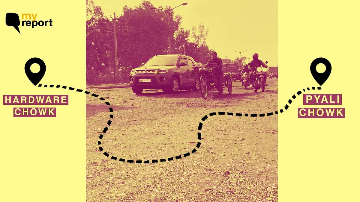 'Faridabad Road Riddled With Potholes for 3 Yrs, Authorities Mute'