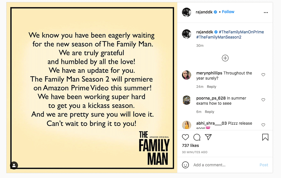 'The Family Man' S2 to Release this Summer, Says Creators Raj & DK