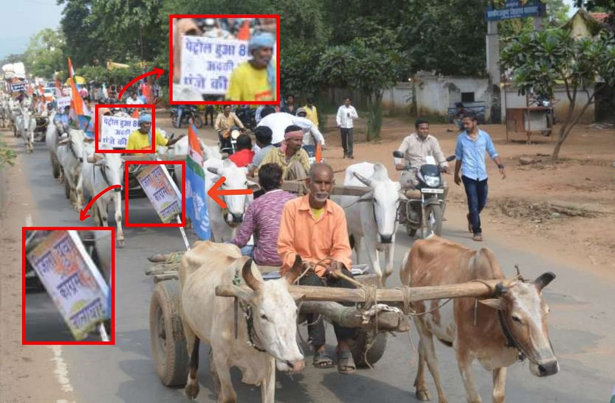 Old Pic of Congress Rally in MP Falsely Linked to Farmers' Protest