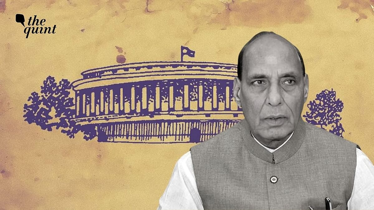 Not Conceded Anything: Rajnath Briefs LS on Pangong Disengagement