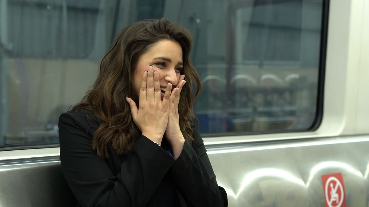 Parineeti Chopra talks about her film <i>The Girl on the Train.</i>