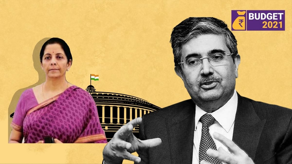 """""""By keeping the fiscal deficit higher, that itself is a stimulus to the economy"""" says Uday Kotak, on the  Union Budget."""