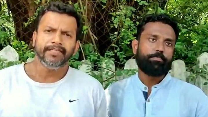 Sagar Gorkhe and Ramesh Ghaichor.