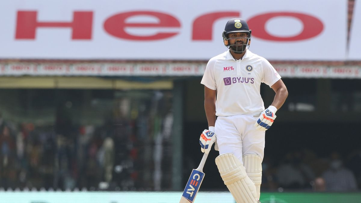 Rohit Sharma scored a century on Day 1 against England in Chennai