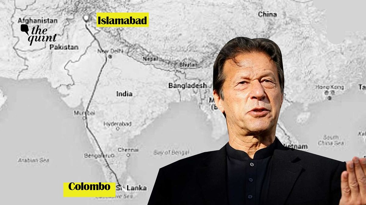 Imran Khan made his first visit to Sri Lanka as Pakistan's Prime Minister.