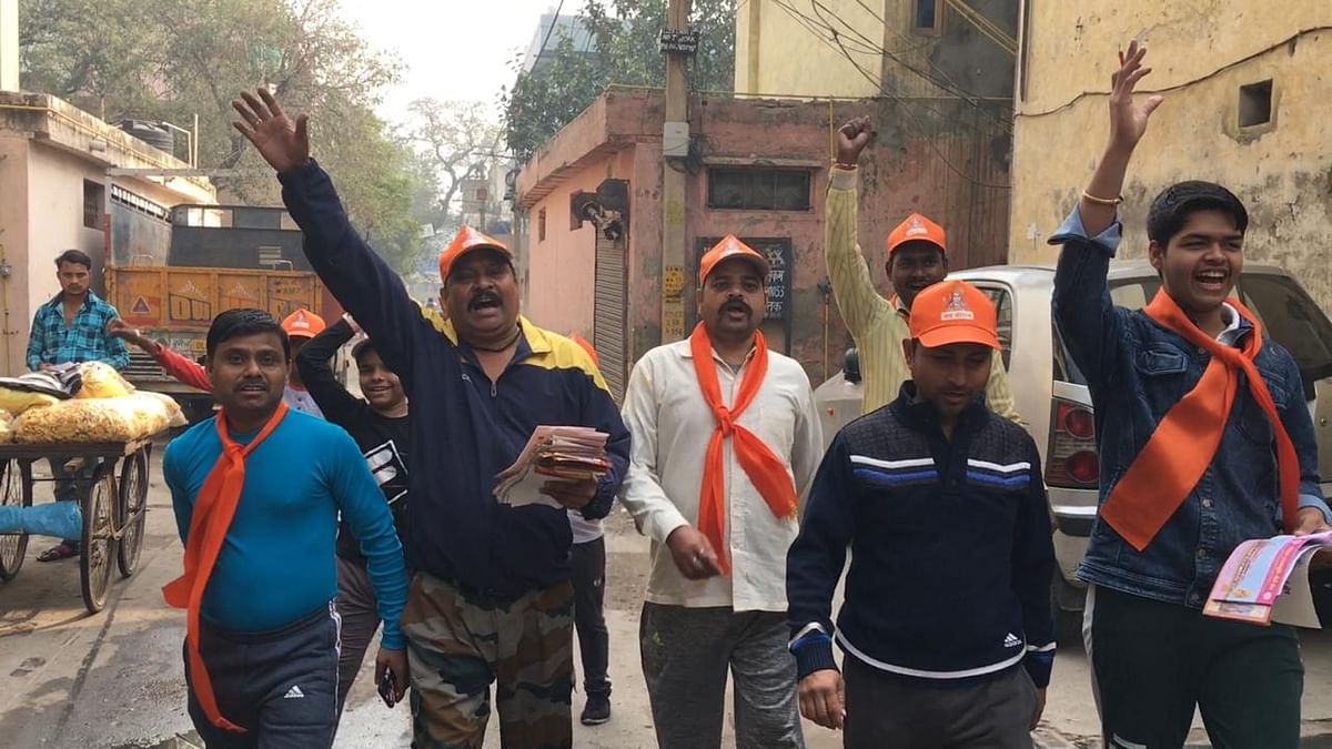 Watch: Inside RSS' Ram Mandir Donation Drive in Northeast Delhi