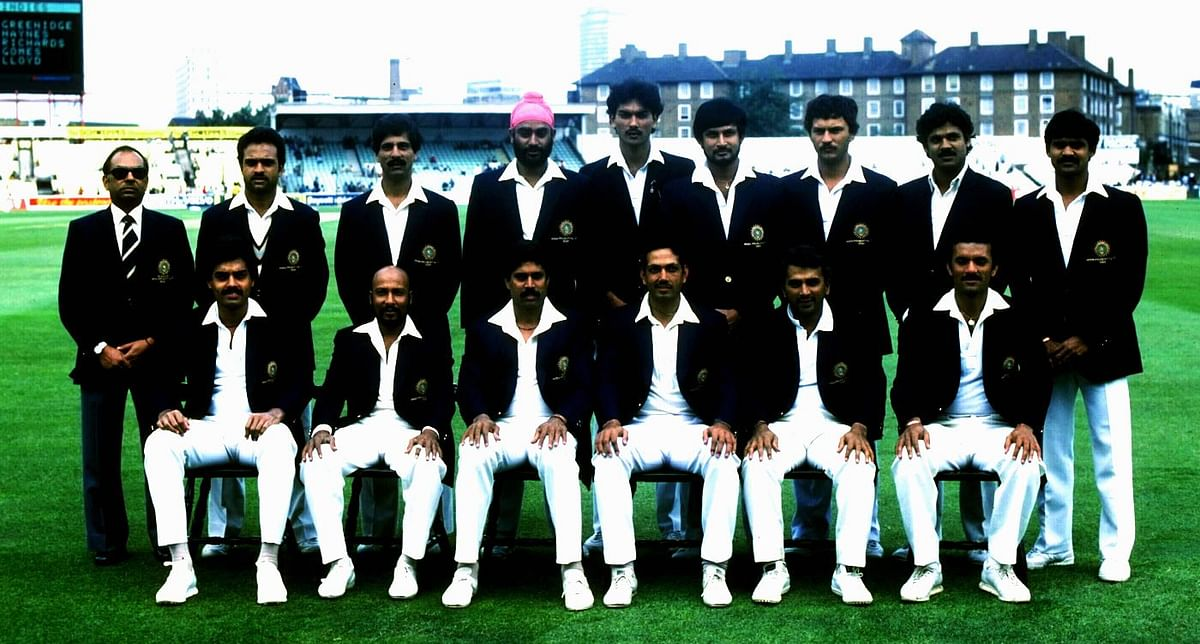 1983 Indian team cricket players