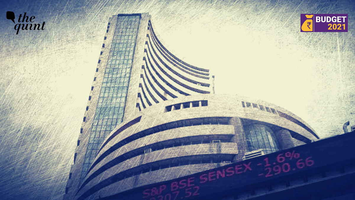 Union Budget 2021: Sensex Soars 2,315 Points to Close at 48,600.61