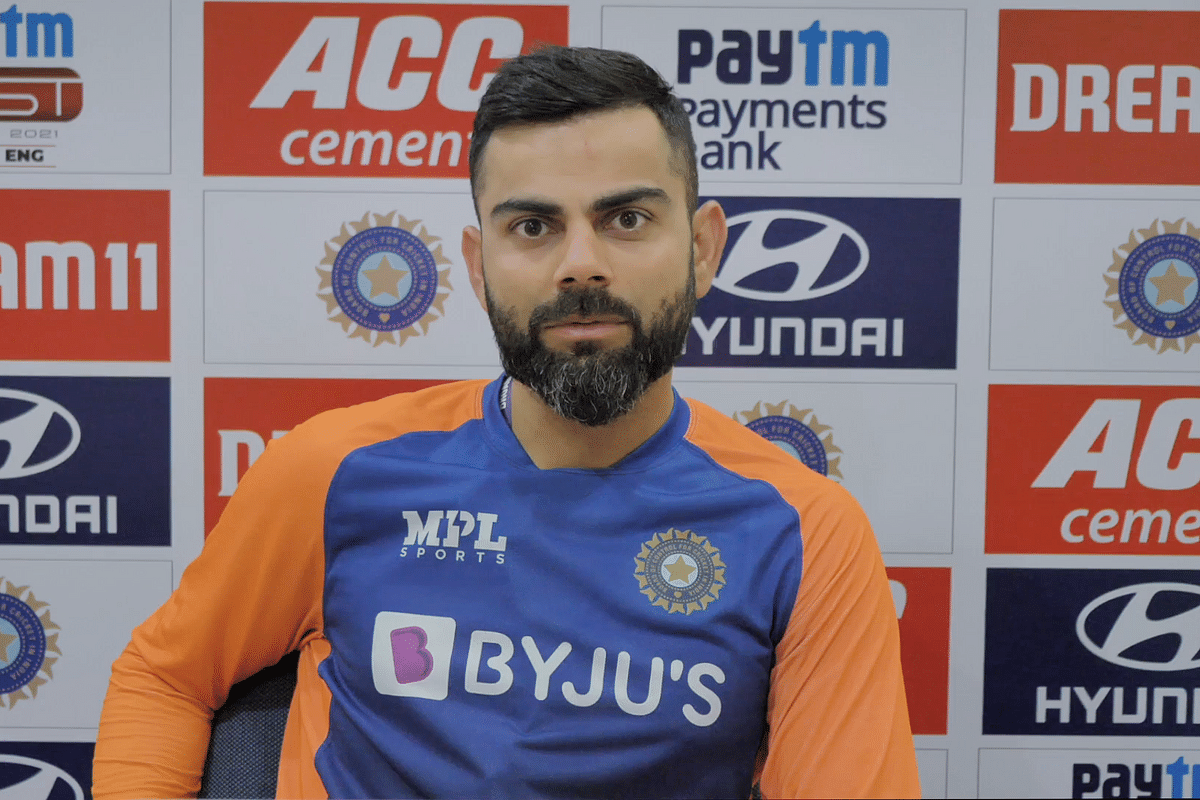 Virat Kohli defended Ajinkya Rahane when asked about his deputy's lack of runs since the MCG Test.
