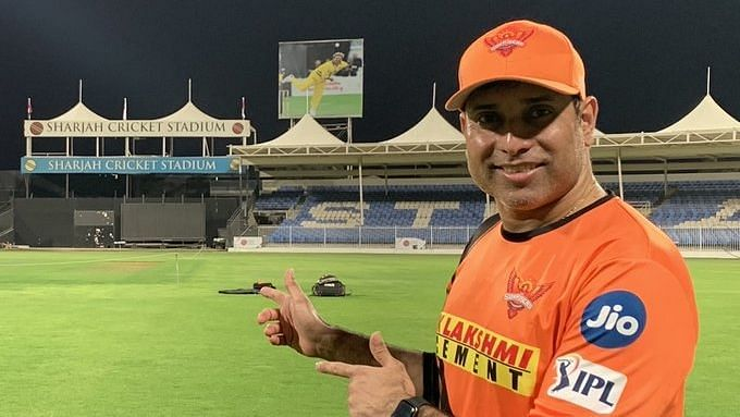 Former Indian cricketer VVS Laxman is the mentor for the Sunrisers Hyderabad side