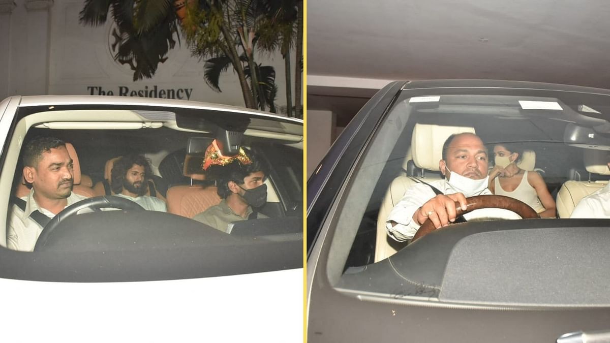 Pics: Deepika, Ananya, Vijay Deverakonda Attend KJo's Party