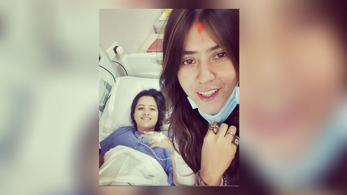Ekta Kapoor Visits Anita Hassanandani at Hospital, Shares Video
