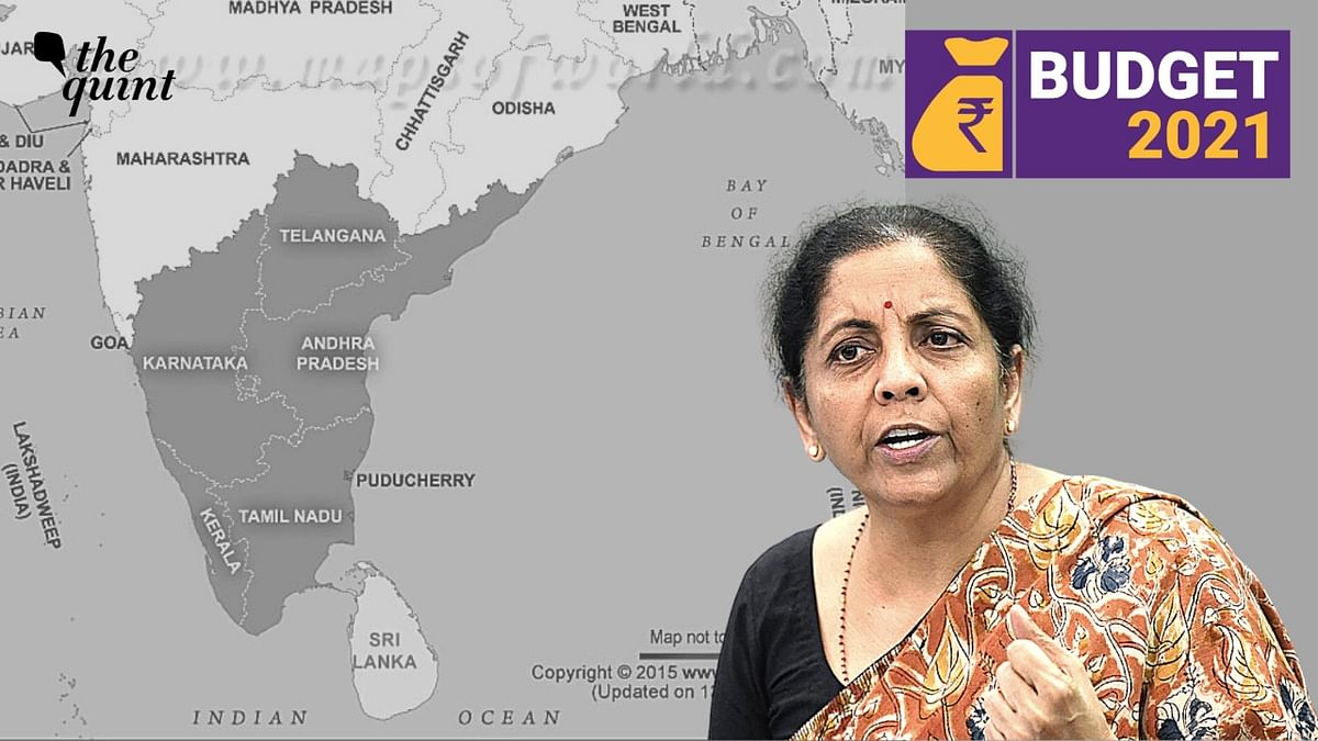Finance Minister Nirmala Sitharaman made special mention of Kerala and Tamil Nadu in her 2021 Budget speech. Image used for representation.