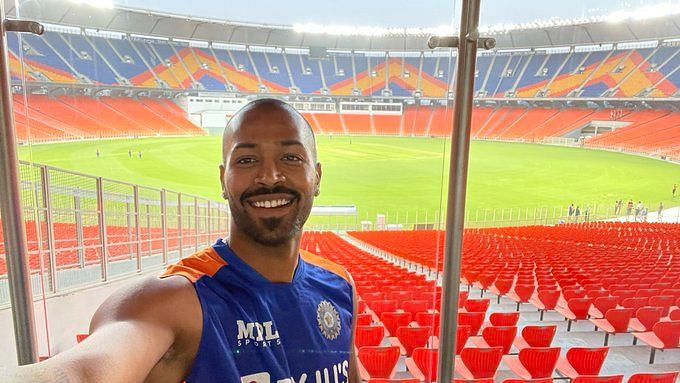 Took Us an Hour to Get Used to Size of New Motera Stadium: Pandya