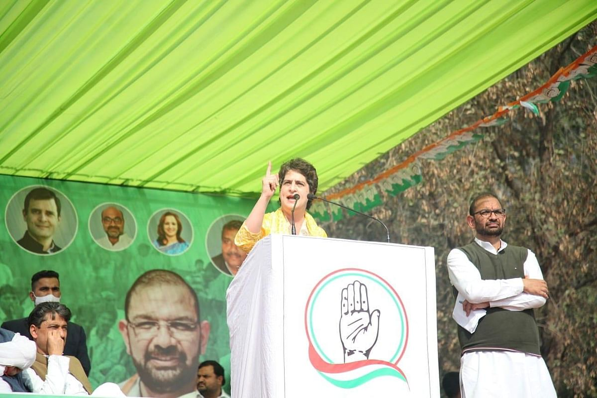 'PM Smiled When Tikait Wept': Priyanka Gandhi in Muzaffarnagar