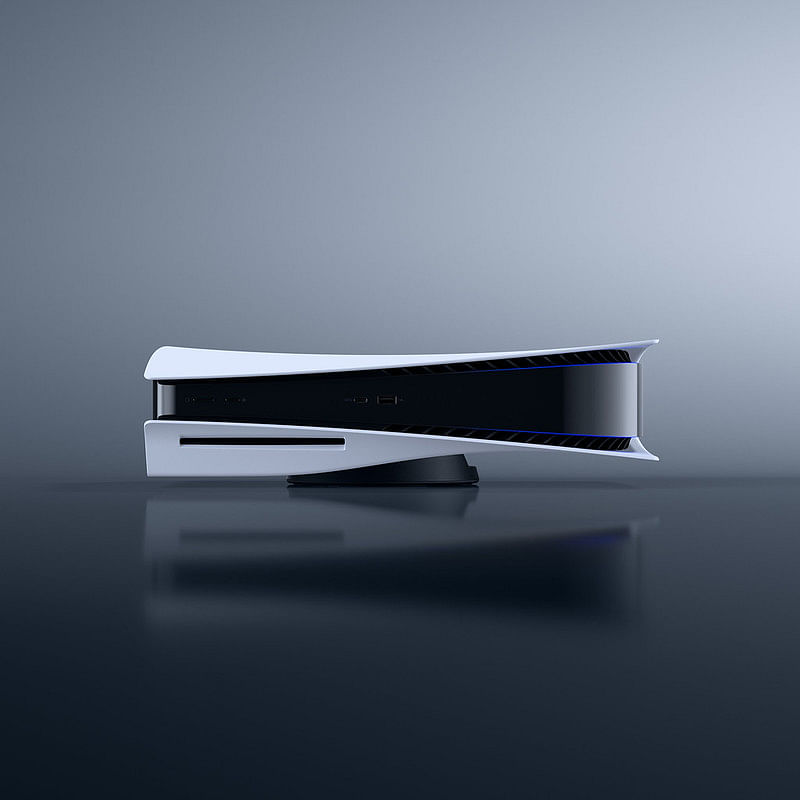 PlayStation 5 is taller than any of its previous models.