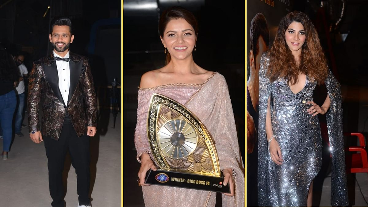 Pics: Rahul Vaidya, Nikki Tamboli, Rubina Dilaik at 'BB14' Finale