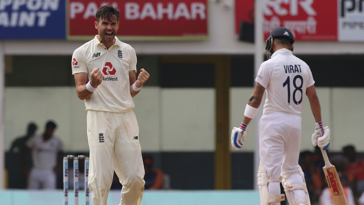 James Anderson's Love for Denting Indian Middle-Order Continues