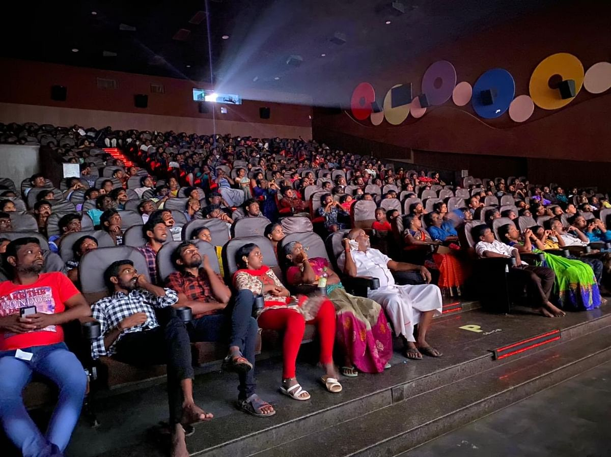 Vijay's 'Master' continues to see houseful shows.
