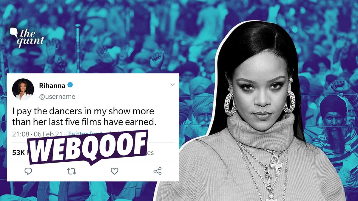 Rihanna Took A Dig at Kangana Ranaut? No, It's a Fake Tweet