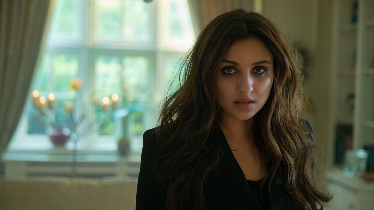 Parineeti Chopra in <i>The Girl on the Train.</i>