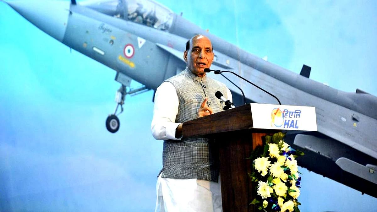 Can't Stay Dependent on Other Countries for Defence: Rajnath Singh