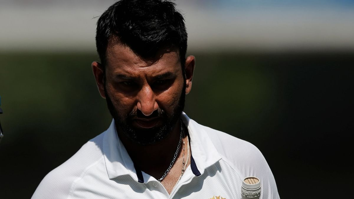 2nd Test: BCCI Confirms Injured Pujara Will Not Field on Day 2