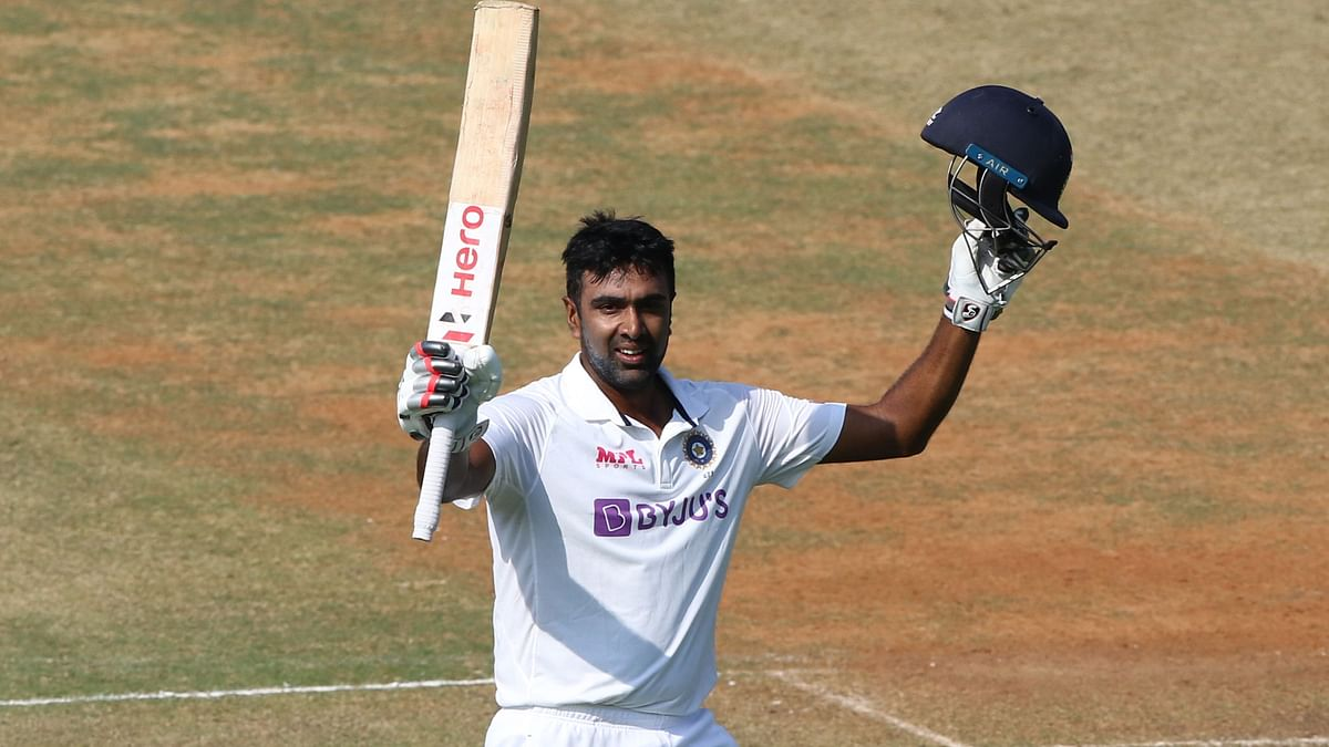 R Ashwin scored his fifth Test century on Day 3 of the India vs England Chennai Test.