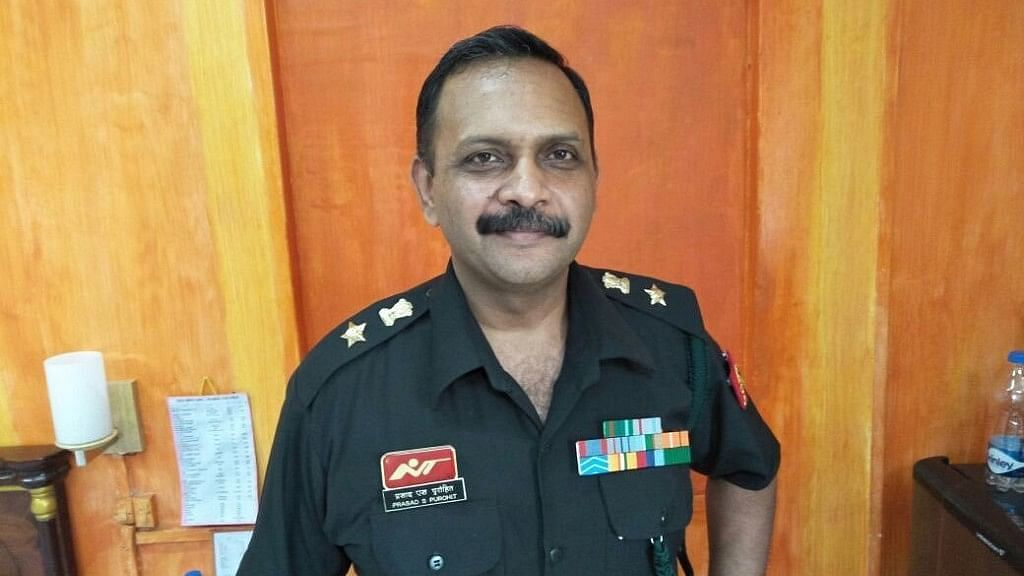 Photo of 2008 Malegaon blast case accused Lt Col Prasad Shrikant Purohit.