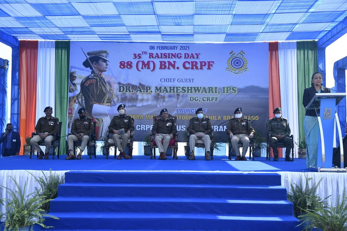 CRPF inducts women commandos in its special wing for anti-naxal operations.