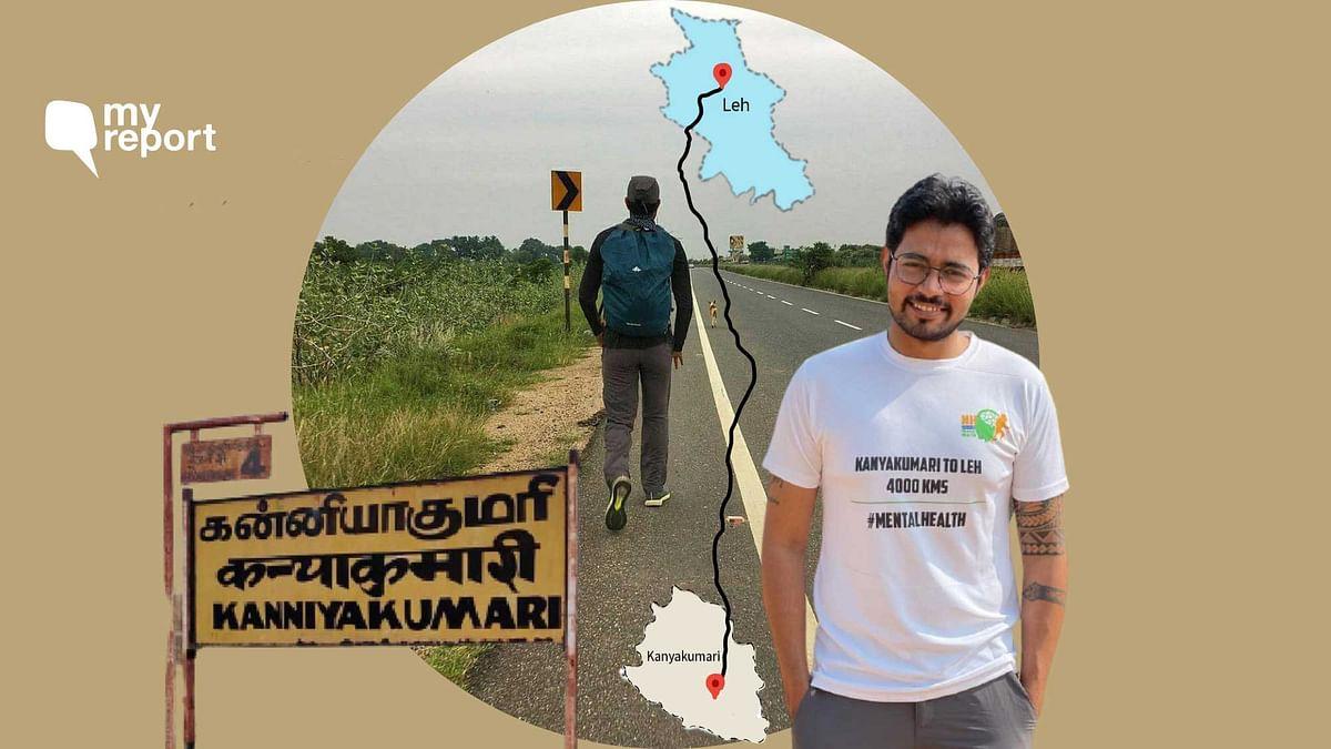 Kanyakumari To Leh: A Walk To Spread Awareness on Mental Health