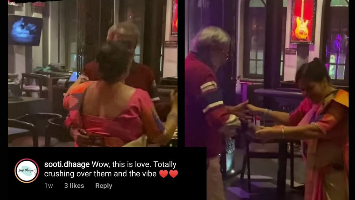 A couple from Kolkata dancing to Woh Chali Woh Chali.