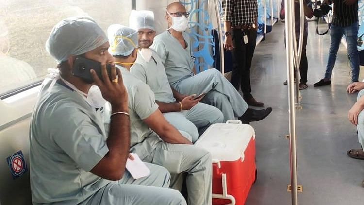 Hyderabad Metro Turns Lifeline, Transports Heart for Transplant