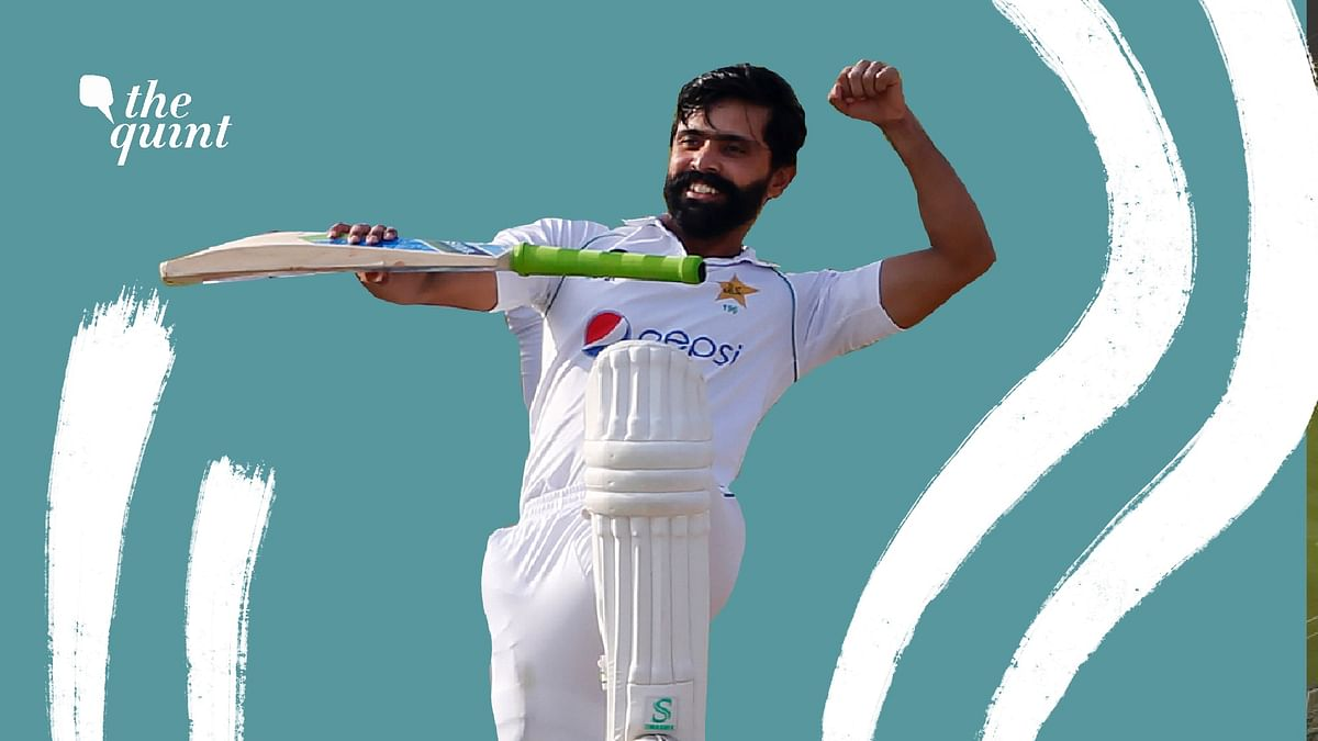Scoring centuries at 35, after years of being kept  on the sidelines of Pakistan cricket.
