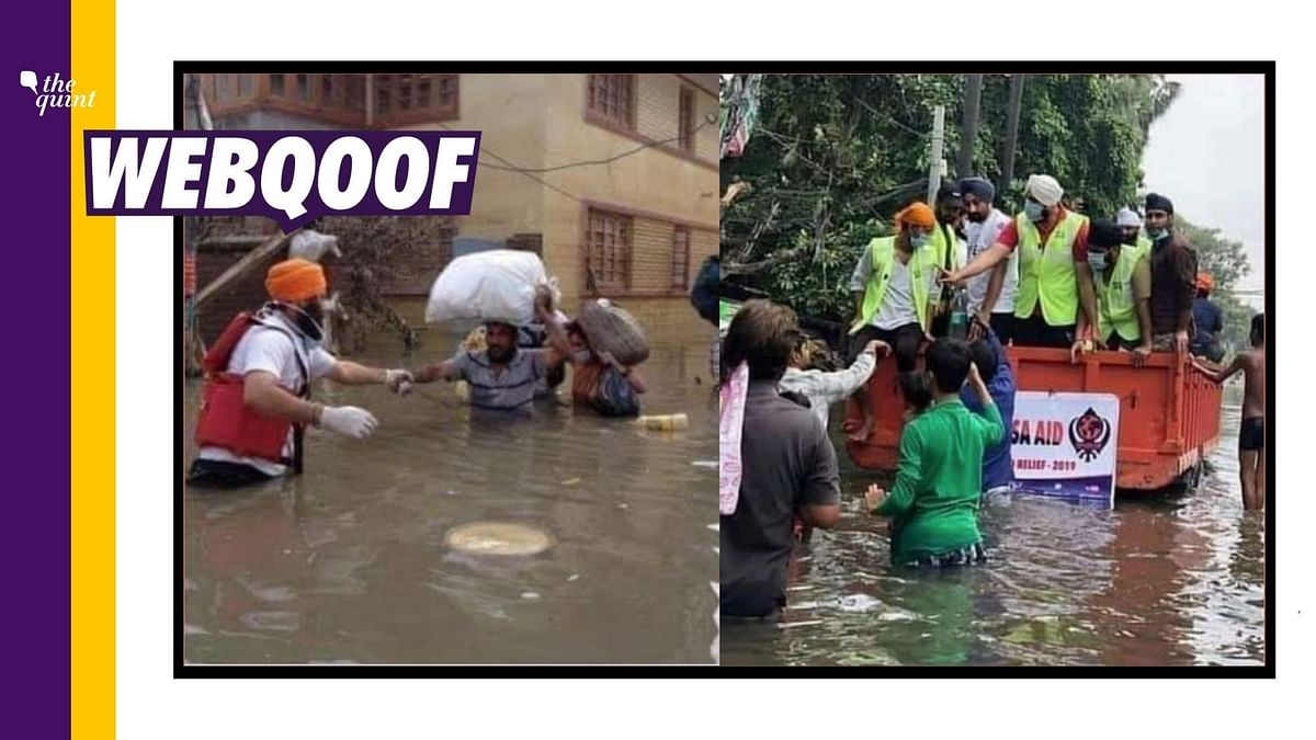 Khalsa Aid is Helping  U'Khand Victims but Viral Images Are Old
