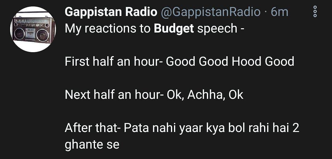As Sitharaman Announces Budget 2021, Memes Flood the Internet