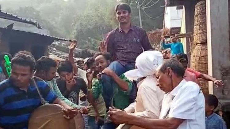 Andhra's Tribal Village Throws Touching Farewell for Local Teacher