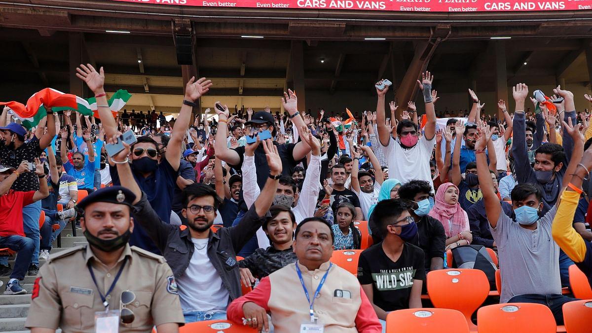 Fan Breaches Security, Enters Modi Stadium Pitch to Meet Kohli