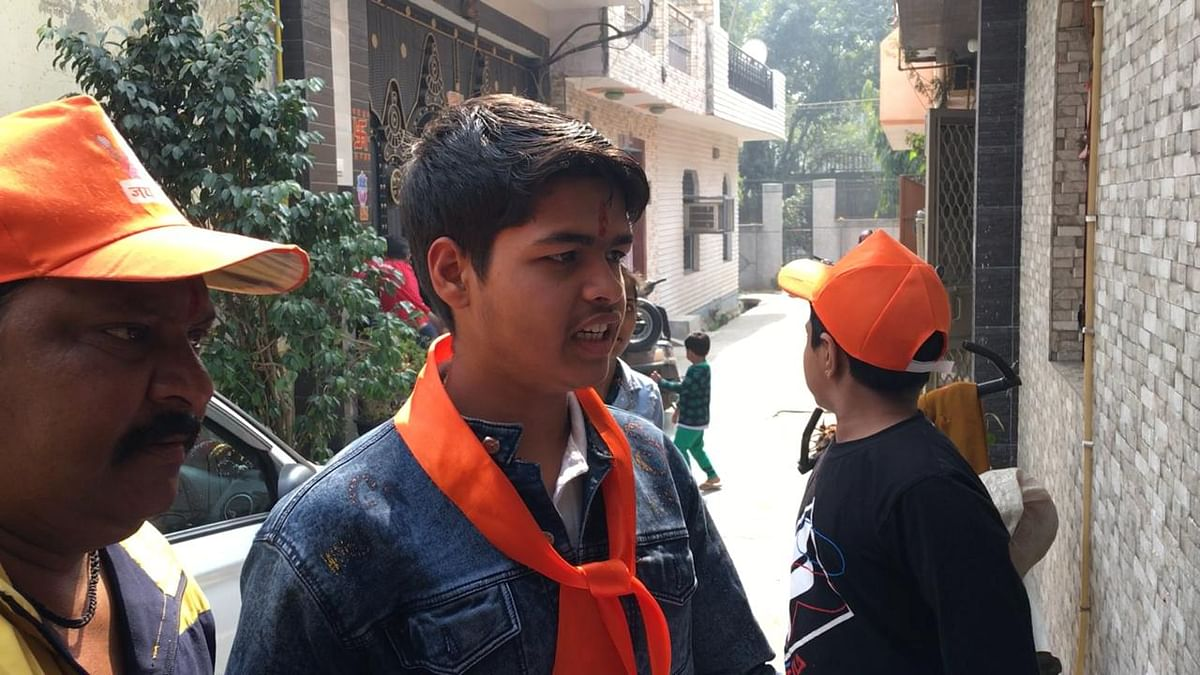 """""""Shree Ram Janmabhoomi Teerta Kshetra Trust in Ayodhya is carrying out a drive for people to donate money. So whatever you can do to help, please tell us,"""" Raghav says."""