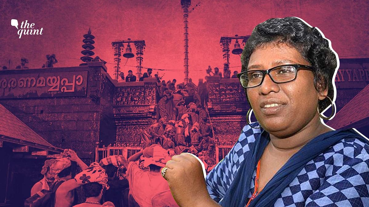 Congress Using Sabarimala to Win Kerala: 1st Woman to Enter Temple