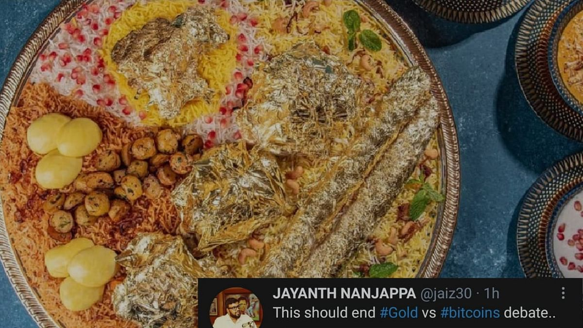 Twitter Craves the Most Expensive Biryani in the World