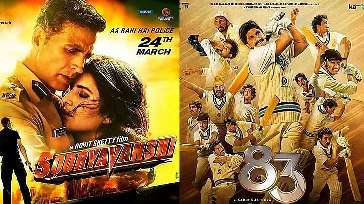 Sooryavanshi and 83 will be releasing soon in theatres.