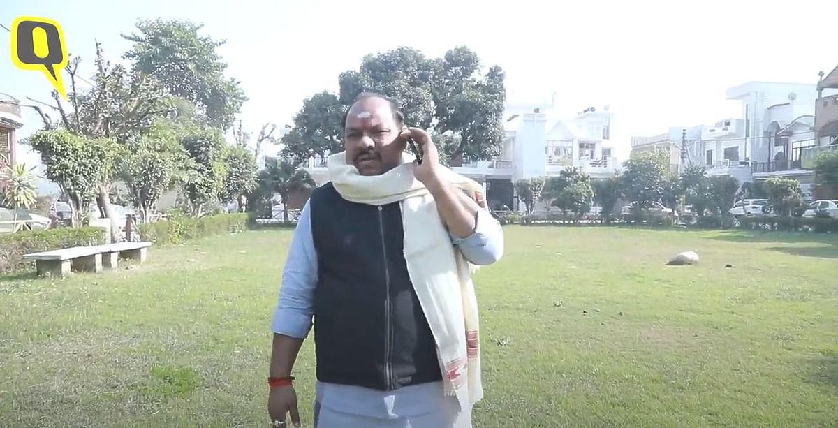 Balraj Dungar is aspiring for a BJP ticket in the next Uttar Pradesh elections.