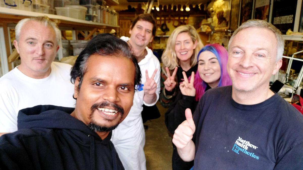 Nalneesh Neel with Matthew Smith and team.