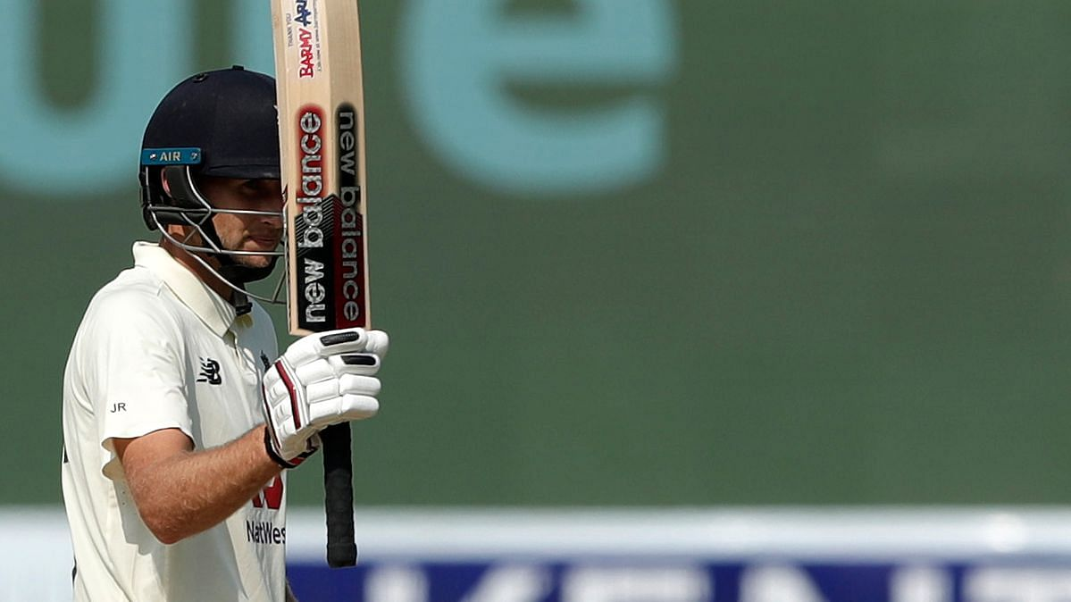 Joe Root scored a century in the first innings in Chennai.