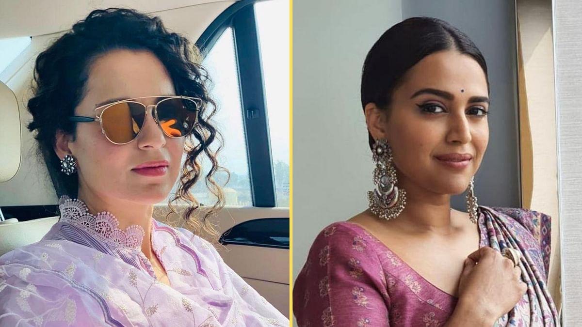 <p>Swara Bhasker busts Kangana Ranaut's claim about never doing an 'item song'</p>