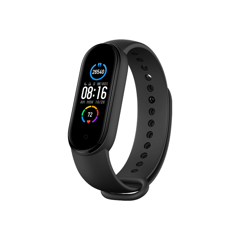 Xiaomi Band 5 available for both android and iOS devices.
